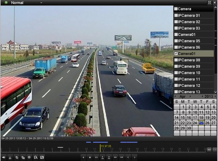 trích xuất dữ liệu camera trên đầu ghi hikvision